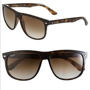 4fc717f286 Ray-Ban Rb4147 Boyfriend Tortoise 4147 Sunglasses